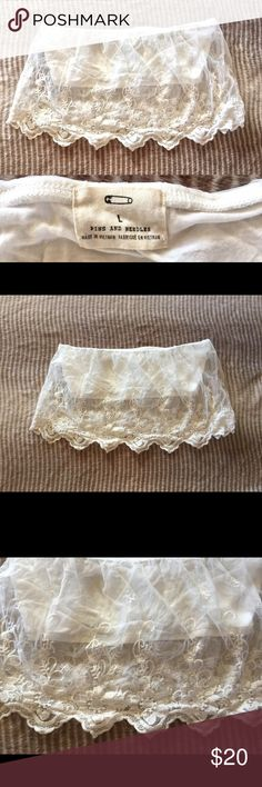 Urban Outfitters Lace Bandeau! Never worn Pins and Needles Lace Bandeau! So cute✨💕 Urban Outfitters Other