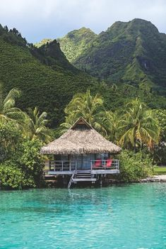 """Tahiti's 20 Best Overwater Bungalow Resorts travel destinations 2019 Moorea Tahiti – the Bali Hai island from """"South Pacific"""". very rough, windy boat ride from Papeete, but worth it! Places To Travel, Places To See, Travel Destinations, Philippines Destinations, Places Around The World, Travel Around The World, Dream Vacations, Vacation Spots, Maui Vacation"""