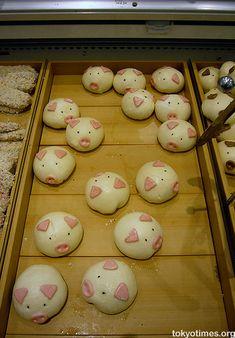 piggy buns Schweinchen Fun Food brötchen rund
