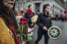 The same day hundreds marched through Vancouver's Downtown Eastside in a bid to end violence against women, Ottawa announces it's forming a special committee to address missing and murdered aboriginal females — a plan that falls short of calls by aboriginal groups and opposition parties for a full national inquiry. (CARMINE MARINELLI/ 24 HOURS)
