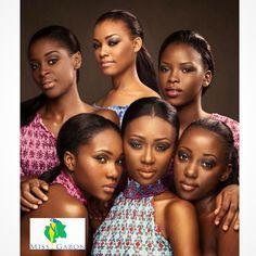 Miss Gabon 2015 Ngotala Reine en haut centre , entourée de ses dauphines,photo by marioepanya for Studio Epanya Paris