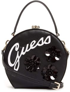 dd836328989c Britta Embellished Round Mini Satchel at Guess. Rhonda Wagner Homemaker · Designer  Handbags