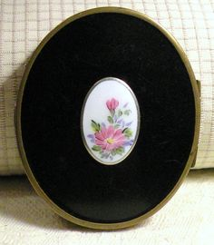 Vintage Powder Rouge Compact RH Co by RosePetalResources on Etsy, $42.00