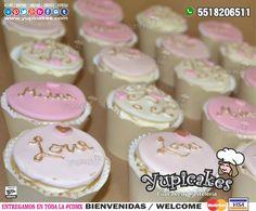 ¿Buscas detalles deliciosos para tu despedida de soltera? ¡Tenemos los cupcakes personalizados que serán del agrado de tus invitados! 😊 Cotiza en línea en 🔵 www.facebook.com/yupicakes 🔵 o envía WhatsApp al ☎ 5518206511 - ¡ENTREGAMOS EN TODA LA CDMX! #Yupicakes #CDMX #Cupcakes #DespedidaDeSoltera