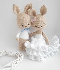 cute Crochet 391250286381479069 - Source by Crochet Teddy Bear Pattern, Crochet Animal Patterns, Stuffed Animal Patterns, Crochet Patterns Amigurumi, Amigurumi Doll, Crochet Animals, Crochet Dolls, Easter Crochet, Crochet Bunny