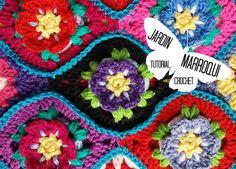 Jardin marroqui a crochet tutorial paso a paso