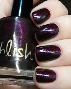 Pahlish Sleep to Dream, a vampy wine jelly packed with yellow, copper, peach, and violet shimmers,