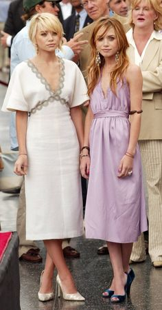 2004, Hollywood Walk of Fame - Then and Now: Mary-Kate and Ashley Olsen's Style Transformation - Photos