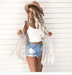 Summer Fashion Trends und Styles - Things To Wear - Sommer Mode Outfits, Trendy Outfits, Fashion Outfits, Womens Fashion, Fashion Styles, Fashion Ideas, Fashion Fashion, Fashion Blouses, Classic Fashion