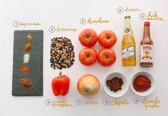 Vegetarian Chili by thefreshexchangeblog #Chili #Vegetarian