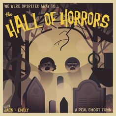TwoDots postcards released around Halloween Two Dots Game, Real Ghosts, Spirited Away, Creative Posters, Illustrations And Posters, Ghost Towns, Concept Art, Mickey Mouse, Horror