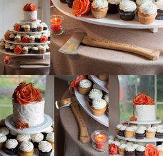 Cupcakes fireman ax  Annapolis Wedding Photographer Carla Lutz Photography Port Annapolis Red Navy Orange Maryland Crab Nautical Wedding