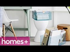 PRACTICAL IDEA: Wire baskets - homes+ - YouTube