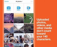 #Twitter #caracteres #Internet Los elementos multimedia ya no cuentan en el límite de caracteres en Twitter