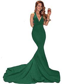 a16e7c432b1 Best Seller Sweet Bridal Women s Mermaid Evening Party V-Neckline Backless  Prom Dress Long online