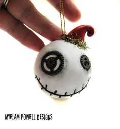 Steampunk ornament Christmas Ornament by MyriamPowellDesigns, $18.00