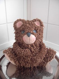 Teddy Bear Cake (not mine but I did this same cake)