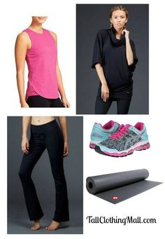 Tall Yoga Outfit - Tall Clothing Mall