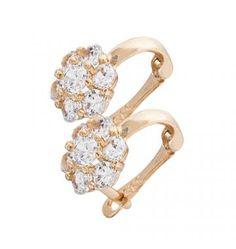 Kolczyki złote kwiatki z białymi cyrkoniami #PamiatkaChrztu #PrezentNaChrzciny #KolczykiDlaDziewczynki Heart Ring, Engagement Rings, Jewelry, Enagement Rings, Wedding Rings, Jewlery, Jewerly, Schmuck, Heart Rings