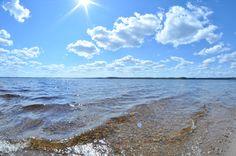 Summerday at Lintusaari, Kannonkoski, Finland.