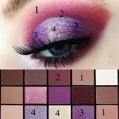 Makeup Revolution Palette, Beauty Makeup, Eye Makeup, Cut Crease Makeup, Beauty Hacks, Beauty Tips, Keep In Mind, Eyeshadow Palette, Makeup Looks