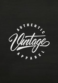 FG Wallpaper Vintage Apparel