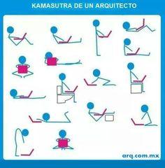 Humor en la Arquitectura. Kamasutra de un Arquitecto - Noticias de Arquitectura - Buscador de Arquitectura