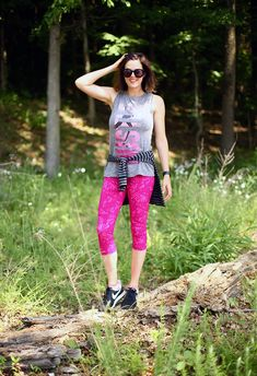 Old Navy Athletic Wear June 2015 Fit Babe, Athletic Wear, What I Wore, Yoga Pants, Old Navy, Active Wear, June, Sporty, Leggings
