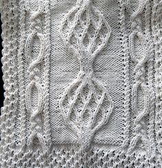 All of the squares for this afghan will be taken down in October 11 2014. At that time the afghan will be offered for sale in its entirety for $12.00. It will be SA-06-Sampler Aran Afghan and will be available in November 2014.