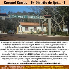 IJUÍ - RS - Memória Virtual: Coronel Barros - Ex-Distrito de Ijuí e colonizado ...