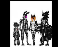 skeletronic family by xBrowniiex