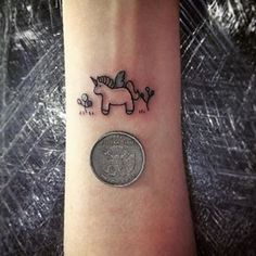 Kawaii eeeeeee!!! part two: | 20 Magical Unicorn Tattoos