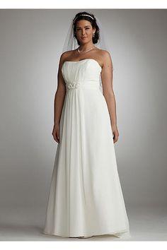 Chiffon Soft Gown with Side Drape AI13011912