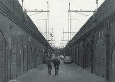 1968. Spaces for creative entrepreneurs at TussendeBogen in the Haarlemmerbuurt in Amsterdam. #amsterdam #1968 #tussendebogen
