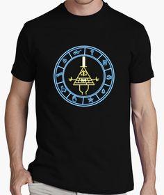 Camiseta Gravity Falls Pyramid