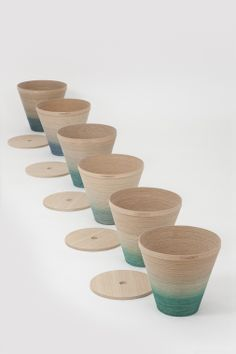 by mischer'traxler Cup Design, Tidy Up, Basket, Product Shooting, Table, Projects, Inspiration, Furniture, Home Decor
