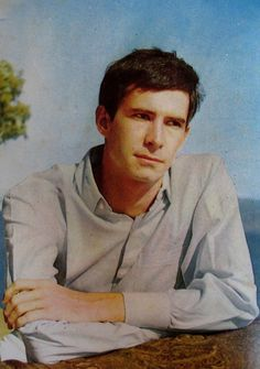 Anthony Perkins (April 1932 – September gave his most celebrated performance as the character Norman Bates in Alfred Hitchcock'. Tab Hunter, Norman Bates, Anthony Perkins, Movie Photo, Alfred Hitchcock, Greatest Adventure, Famous Artists, Celebrity Photos, Movie Stars