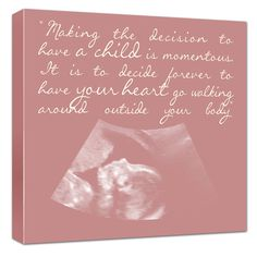 Personalized Nursery Quote on Custom Canvas with your words or poems or sayings 12x12 canvas art. $125.00, via Etsy.