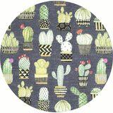 Michael Miller, Lovely Llamas, Cactus Hoedown Grey
