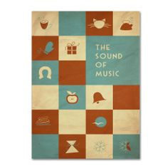 Megan Romo 'The Sound of Music' Canvas Art   Overstock.com Shopping - Top Rated Trademark Fine Art Canvas