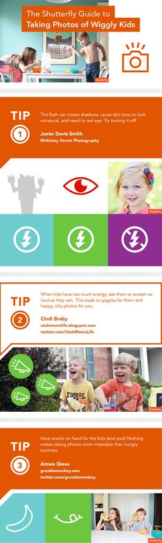 23 tips for photographing kids. Great advice! Check it out.