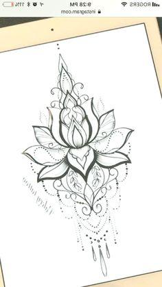 Best 7 Mandala design tattoo – Would love this as a temp on my sternum – –. - madala - Best 7 Mandala design tattoo – Would love this as a temp on my sternum – –… – - Sternum Tattoo Lotus, Lotus Mandala Tattoo, Sternum Tattoos, Sternum Tattoo Design, Dandelion Tattoo Quote, Dandelion Tattoo Design, Hip Tattoos Women, Love Tattoos, Body Art Tattoos