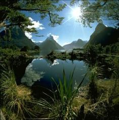 This is my long term goal and biggest dream... to hike Milford Track in NZ. Mitre Peak at the end of the Milford Track