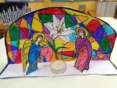 Ελένη Μαμανού: Κατασκευές 25η Μαρτίου Preschool Crafts, Crafts For Kids, Catholic Crafts, Mother Mary, Spring Crafts, Craft Patterns, Winter Time, Little People, Teaching Kids