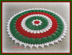 Thought I would share a project from a couple of years ago. I so love this doily! I know I've made 4 or 5 of them to date for friends.