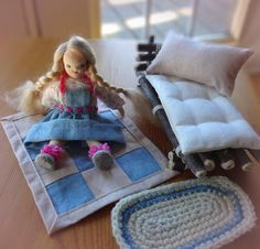 Your place to buy and sell all things handmade Cotton Jumper, Soft Hair, Dollhouse Dolls, How To Make Bed, Pretty In Pink, Blond, Super Cute, Buy And Sell, Wool