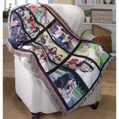 Picture blanket! I would love to have this(: