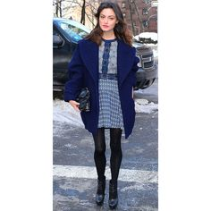 Phoebe Tonkin Heats Up New York Fashion Week WhoWhatWear via Polyvore featuring phoebe tonkin