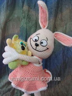 Bunny y Hochuha Amigurumi ~ Free Russian Pattern