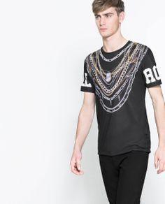CHAINS T - SHIRT - T - shirts - MAN | ZARA Hong Kong
